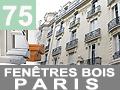 BATIMENT : Pose de fenêtres bois à Paris