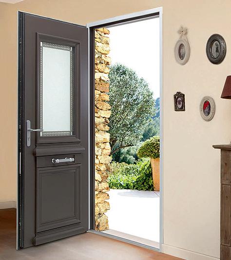 Extrêmement Portes d'entrée en bois Bel'm à Paris - Fourniture et pose CB83