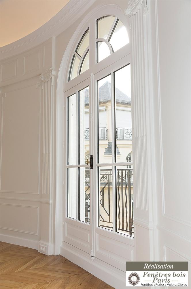 Renovation fenêtres bois paris